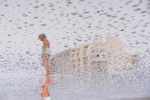 Reflet de plage